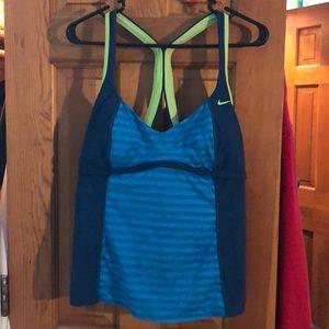 Nike bathing suit top